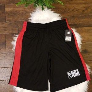NBA Red/Black Basketball Shorts| sz Med